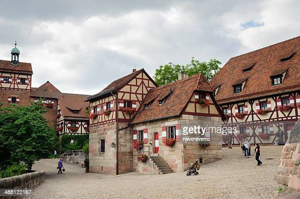 castle in nuremberg - nuremberg stock photos and pictures