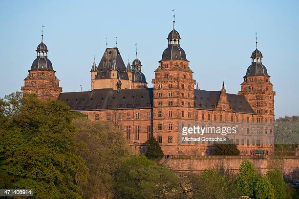 Castle Johannisburg in Aschaffenburg Germany