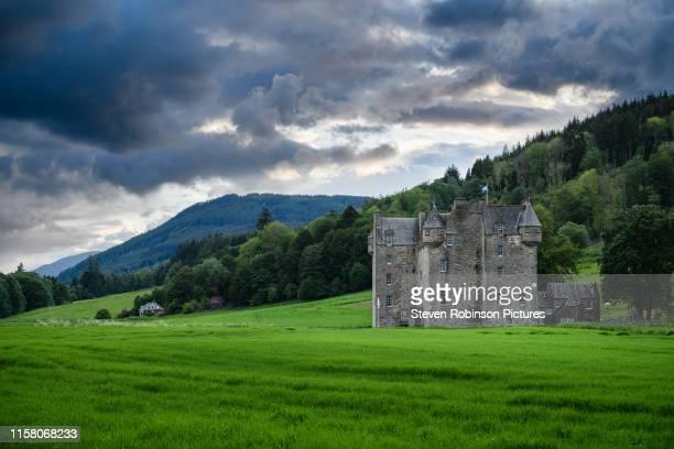 castle menzies, scotland - アバフェルディ ストックフォトと画像