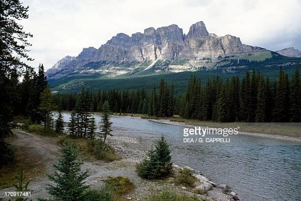 Castle Mountain Bow Valley Banff National Park Rocky Mountains Alberta Canada