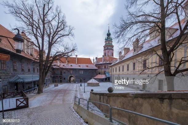 castle no.59  new burgrave´s house, český krumlov castle, czech republic - vsojoy stock pictures, royalty-free photos & images