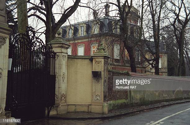 Castle of Alec Wildenstein in France in December 1997