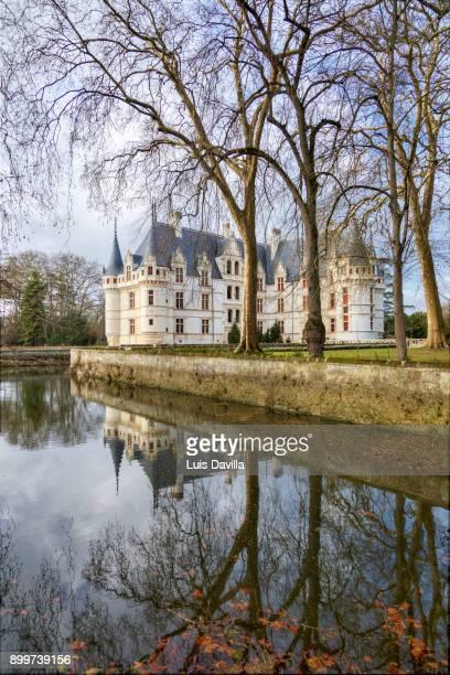 Castle of Azay Le Rideau. Azay Le Rideau. France