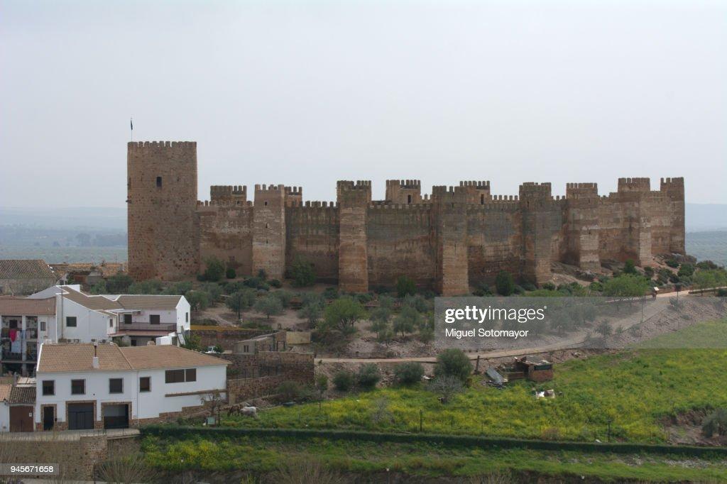 Castle Of Banos De La Encina Stock Photo Getty Images