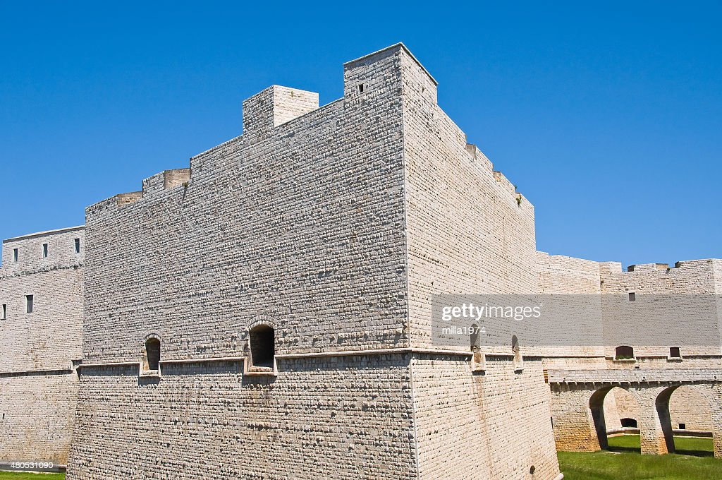 Castle of Barletta. Puglia. Italy. : Stockfoto