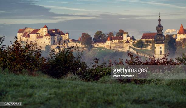 castle of burghausen bavaria germany - altötting stock photos and pictures