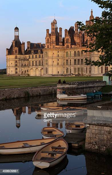 château de chambord - loire valley stock pictures, royalty-free photos & images