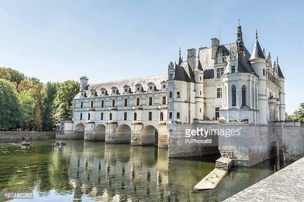 castle of chenonceau - pjphoto69 stockfoto's en -beelden