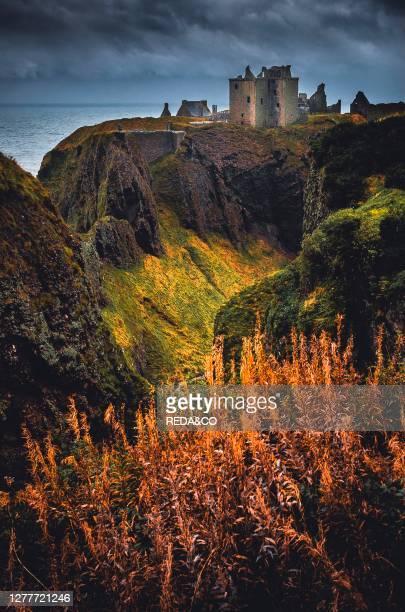 Castle of dunnotar Scotland United Kingdom Europe