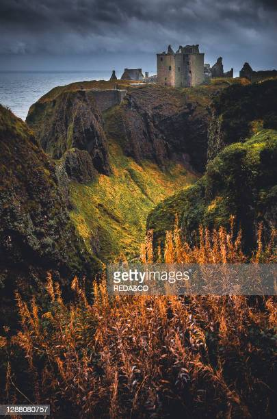 Castle of dunnotar. Scotland. United Kingdom. Europe.