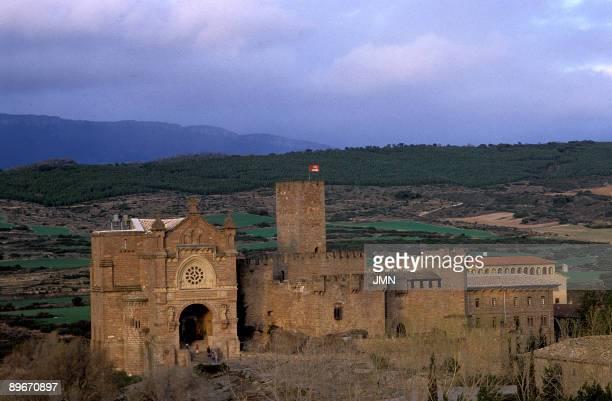Castle of Javier Navarra Spain