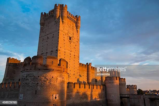 castelo de la mota - castle imagens e fotografias de stock