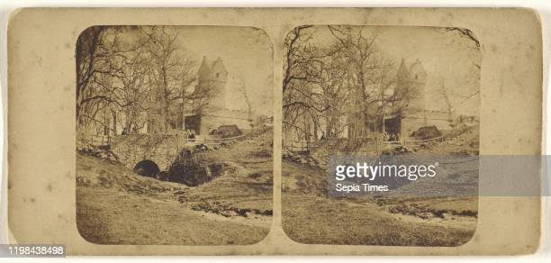 Castle of Mains near Dundee James Valentine 1870s Albumen silver print
