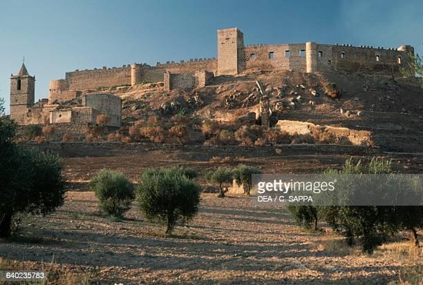 Castle of Medellin, Extremadura, Spain, 10th-16th century.