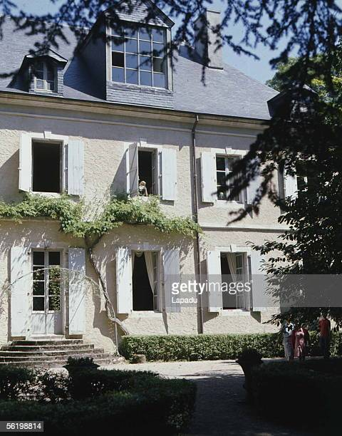 Castle of Nohant residence of George Sand French writer