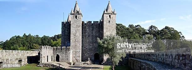 Castle of Santa Maria da Feira. Portuguese medieval military architecture castle.