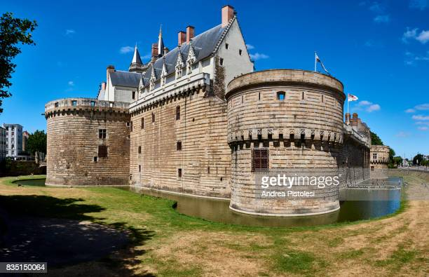 castle of the dukes of brittany, nantes, france - ナント ストックフォトと画像