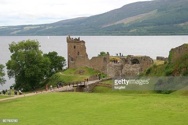 castle of Urquart on Loch ness