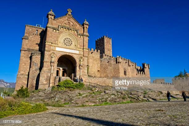 Castle of Xavier, the birthplace of Saint Francis Xavier. Navarre, Spain, Europe..