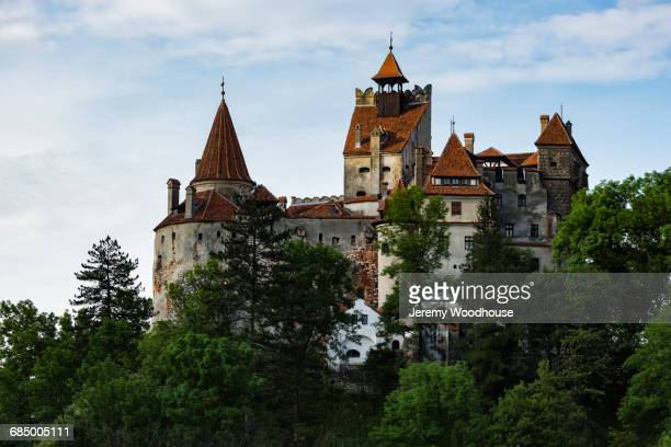 Castle on hill, Bran, Transylvania, Romania