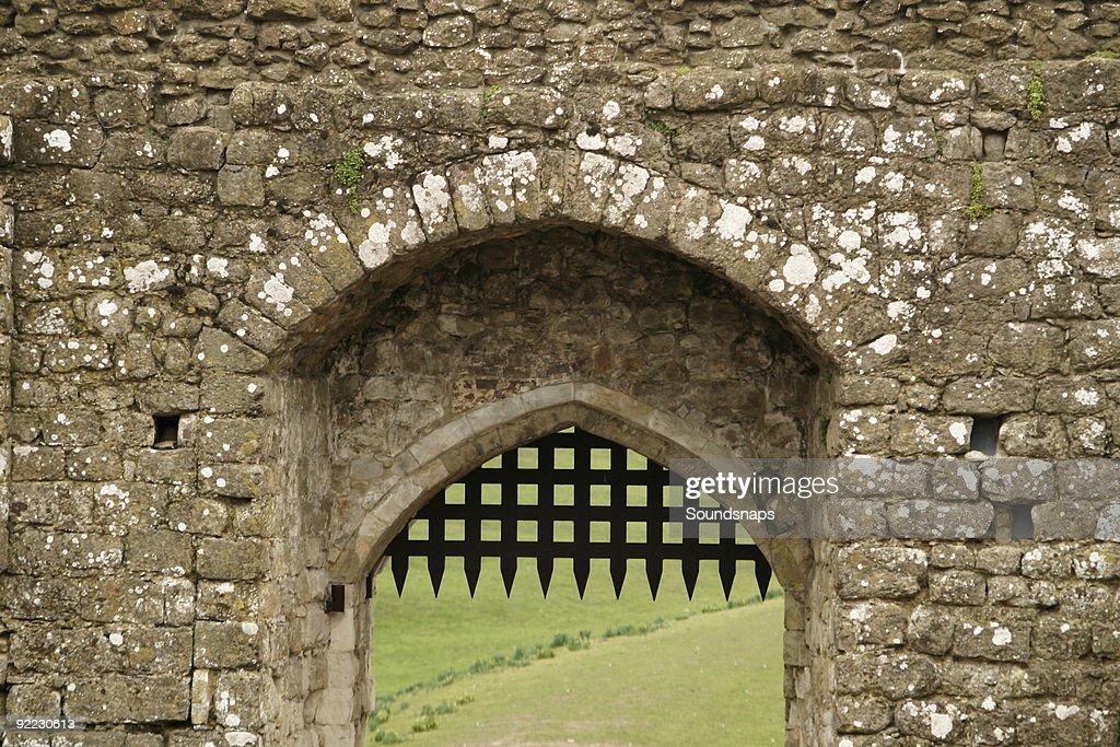 Castle Portcullis : Stock Photo