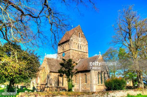 castle rising church - norfolk east anglia - fotografias e filmes do acervo
