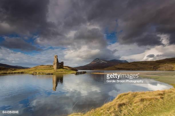 Castle Ruin Reflections.