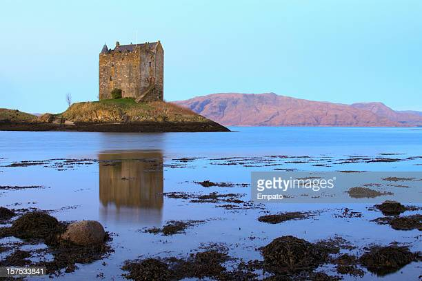 Castle Stalker, Loch Linnhe, Scottish Highlands.