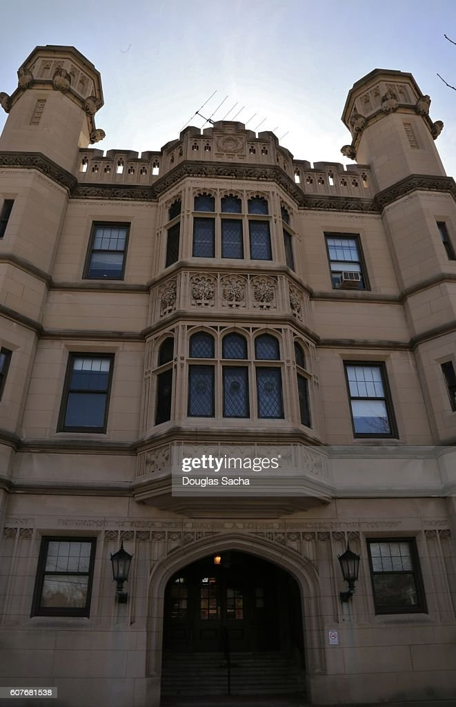 Castle Structure Flora Stone Mather Center For Women On The