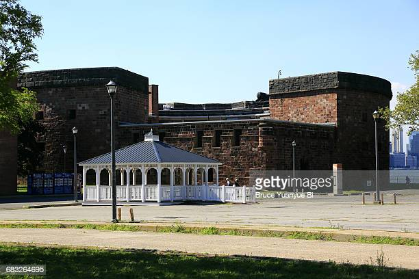 castle williams at governors island - governors island stock pictures, royalty-free photos & images