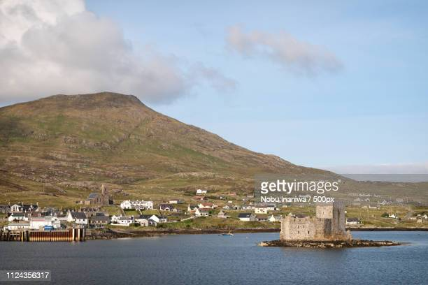 castlebay - barra scotland stock pictures, royalty-free photos & images