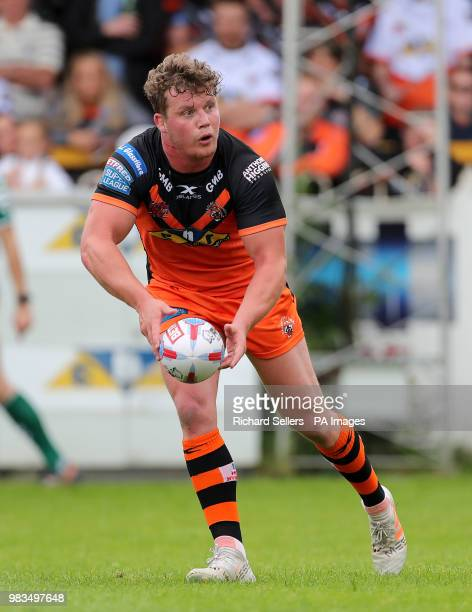 Castleford Tigers' Adam Milner during the Betfred Super League match at the MendAHose Jungle Casteford
