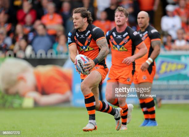 Castleford Tigers' Alex Foster during the Betfred Super League match at the MendAHose Jungle Casteford