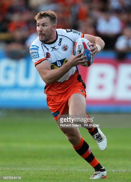 Castleford Tigers' Michael Shenton