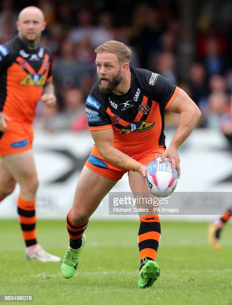 Castleford Tigers' Paul McShane during the Betfred Super League match at the MendAHose Jungle Casteford