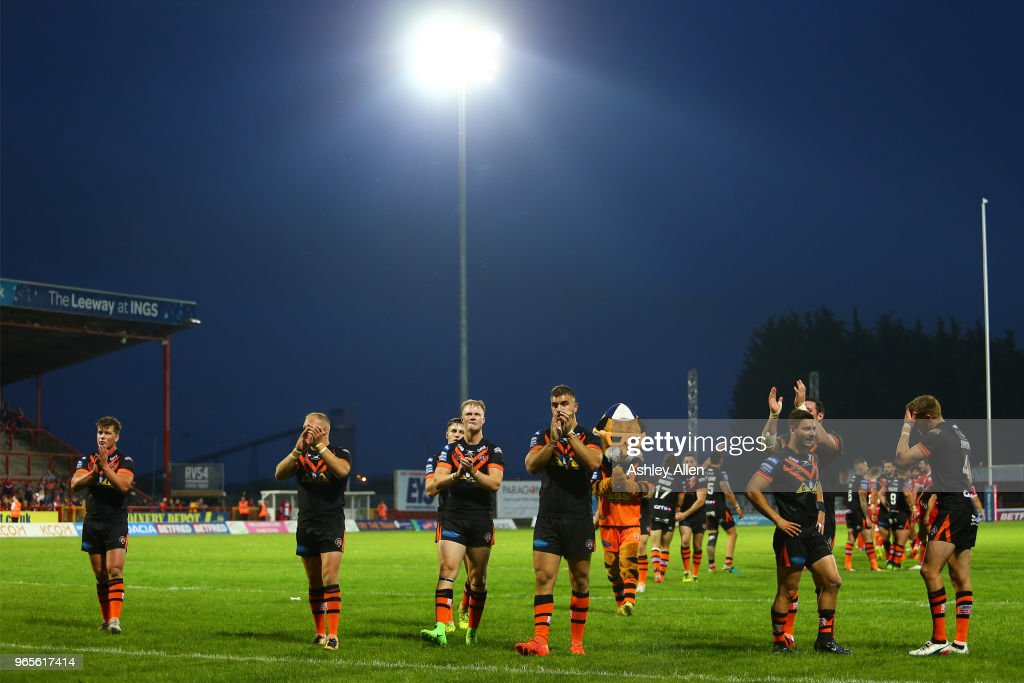 Hull KR v Castleford Tigers - BetFred Super League : News Photo