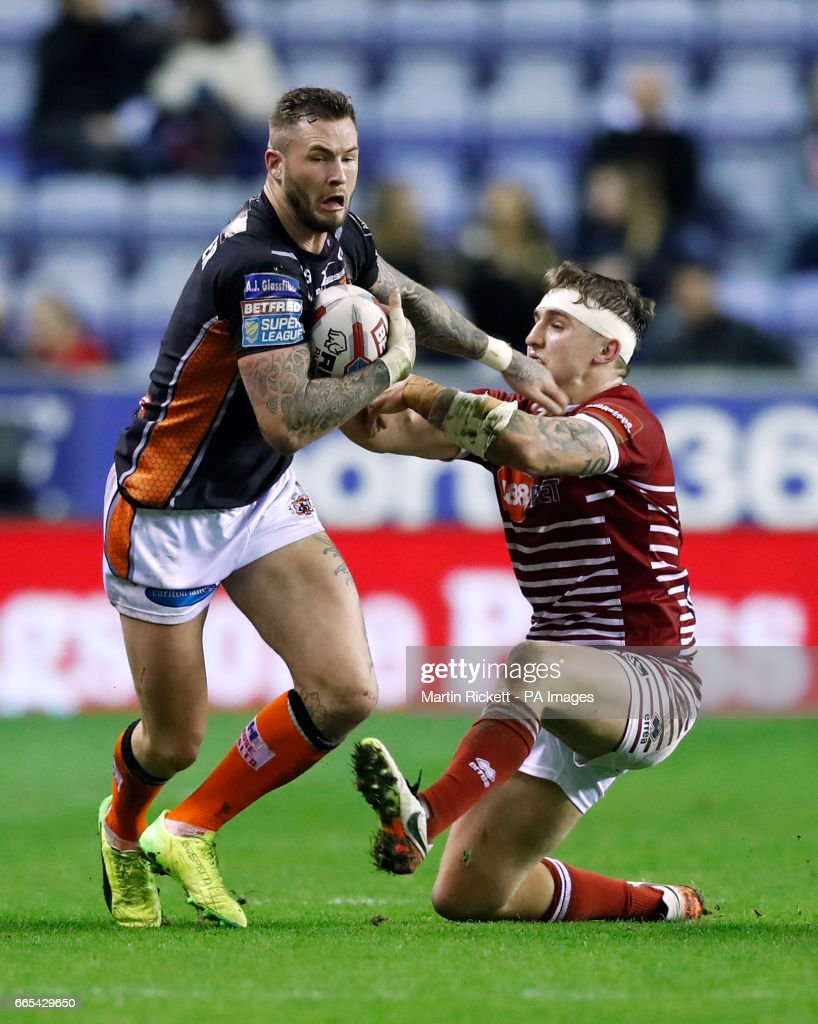 Wigan Warriors v Castleford Tigers - Betfred Super League - DW Stadium : News Photo