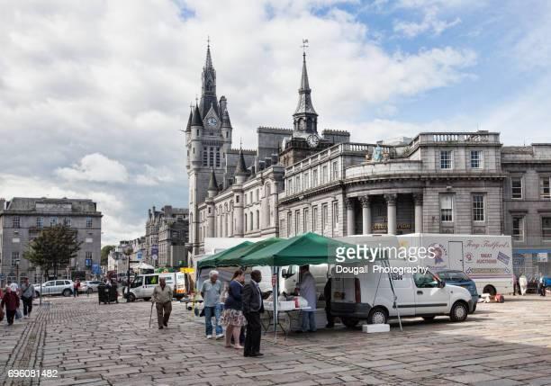 Castlegate, Aberdeen, Scotland