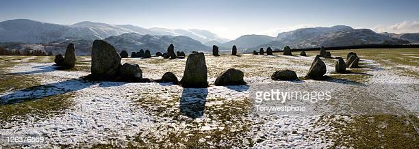 Castlerigg ancient stone circle near Keswick, The Lake District, Cumbria