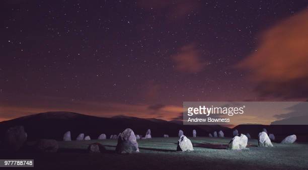 Castlerigg Stone Circle at Night