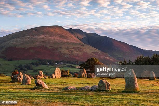 Castlerigg Stone Circle, Castlerigg, Keswick, Lake District, Cumbria, England