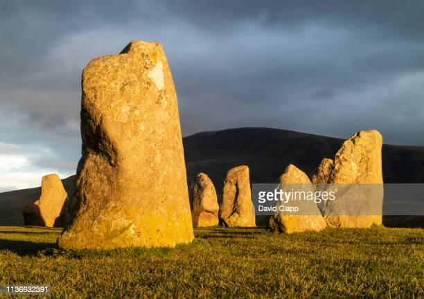 Castlerigg Stone Circle in the Lake District, Cumbria, United Kingdom