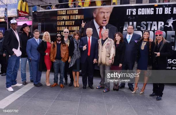 Castmembers Dennis Rodman Trace Adkins Stephen Baldwin Brande Roderick Lil Jon Dee Snider Lisa Rinna Donald Trump Gary Busey Marilu Henner Penn...