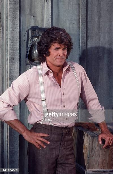 PRAIRIE 'Castoffs' Episode 1 Aired Pictured Michael Landon as Charles Ingalls Photo by NBCU Photo Bank