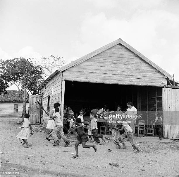 WIDE 60 Castro's Year of Power Episode 101 Pictured School children at their oneroom schoolhouse in the tobacoo workers' town in Pinar del Rio during...
