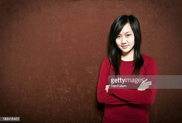 Casual Asian Girl