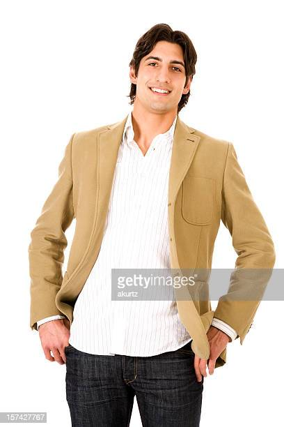 Beige Jacket Stock Photos And Pictures Getty Images