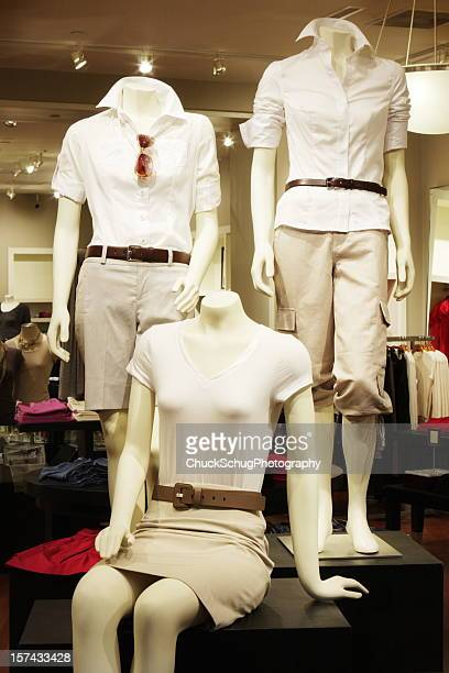 Casual Clothing Display Mannequin Store
