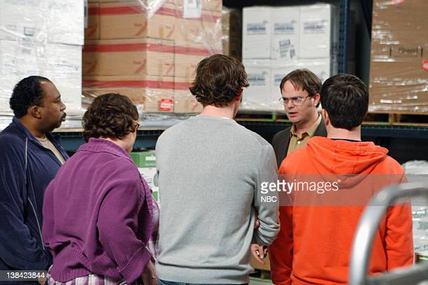 THE OFFICE Casual Friday Episode 24 Pictured Leslie David Baker as Stanley Hudson Phyllis Smith as Phyllis Lapin John Krasinski as Jim Halpert Rainn...