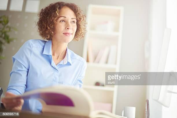 casual Büro Geschäftsfrau